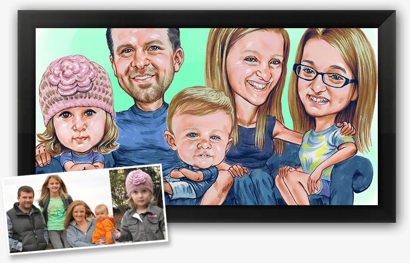 This is a caricature drawing done by on of our artists